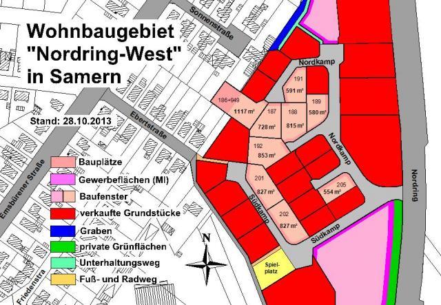 Wohngebiet »Nordring West«