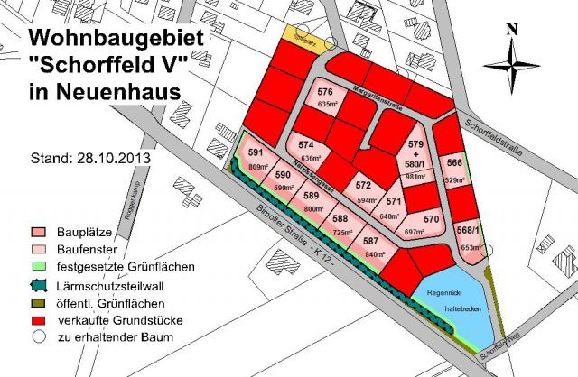 Wohngebiet »Schorffeld 5 (OT Veldhausen)«