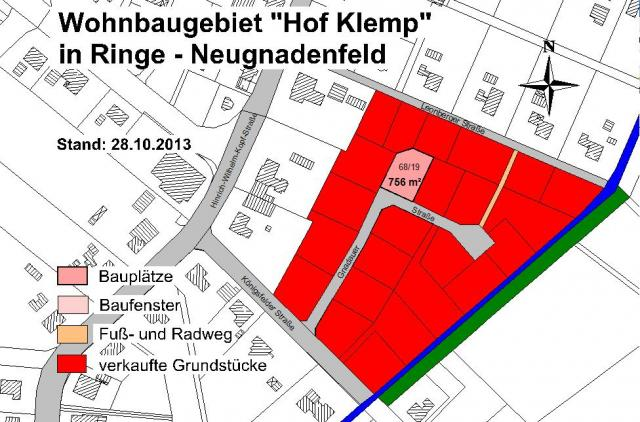 Wohngebiet »Hof Klemp (OT Neugnadenfeld)«