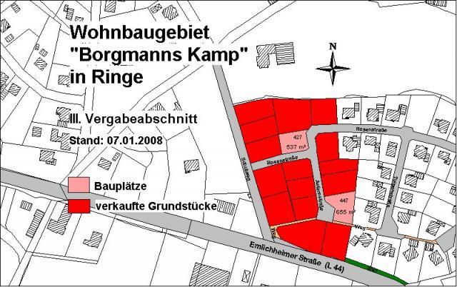 Wohngebiet »Borgmanns Kamp«