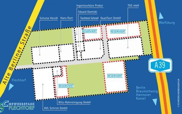 Gewerbegebiet »Gewerbepark Flechtorf«