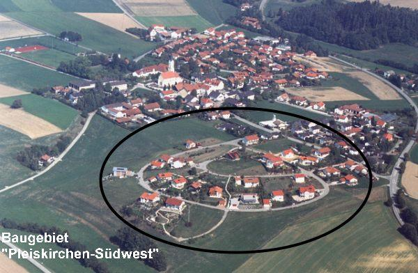 Wohngebiet »Pleiskirchen-Südwest«