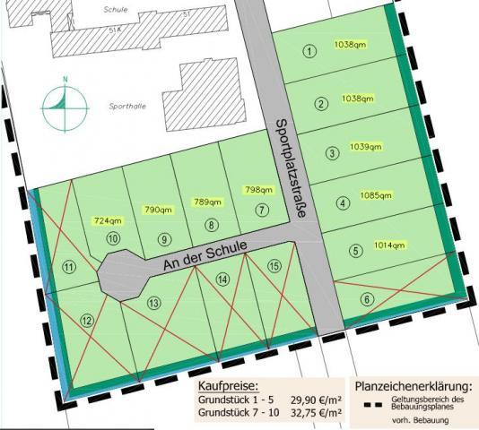 Wohngebiet »An der Schule (Bunde - Wymeer)«