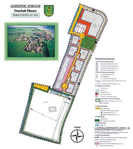 Wohngebiet »Ditzum - Am Ditzum-Bunder-Sieltief«