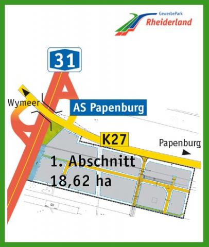 Gewerbegebiet »GewerbePark Rheiderland (A 31)«