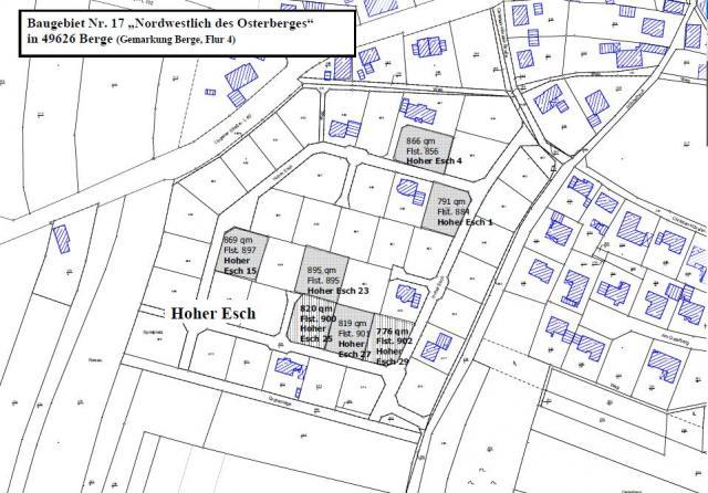Wohngebiet »Baugebiet Nr. 17 «