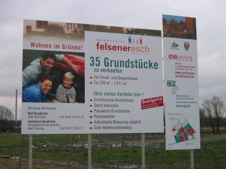 Wohngebiet »Felsener Esch Erweiterung, Ostercappeln-Schwagstorf«