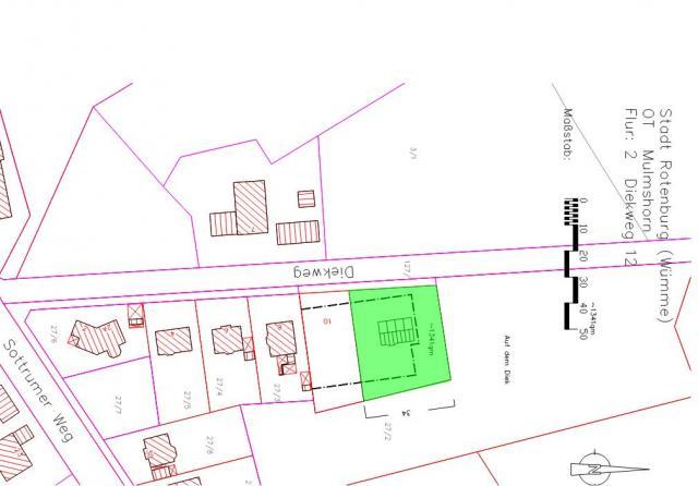 Wohngebiet »Diekweg, OT Mulmshorn«