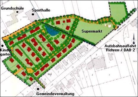 Wohngebiet »Hinter dem Schäferhof, OT Rehren«
