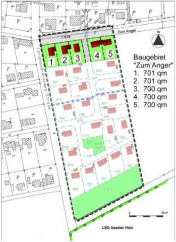 Wohngebiet »Nordassel - Zum Anger«