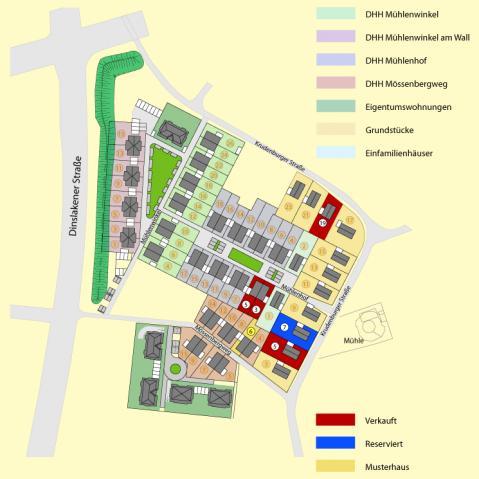 Wohngebiet »Wohnpark-Mühlenwinkel«