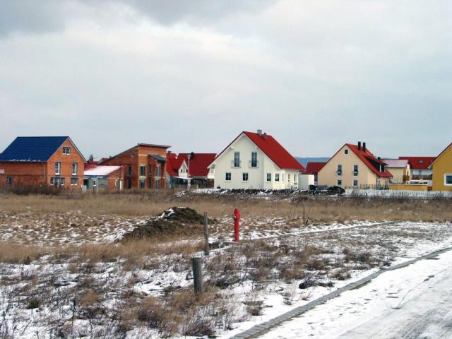 Foto des Baugebiets