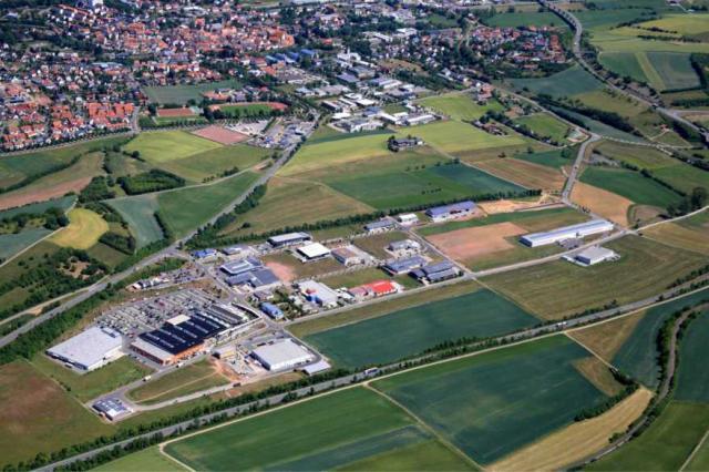 Industrie-, Gewerbe- und Industriegebiet »INTERKOMMUNALER GEWERBEPARK ODENWALD - IGO«