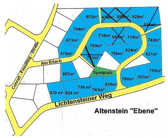 Wohngebiet »Ebene, OT Altenstein«