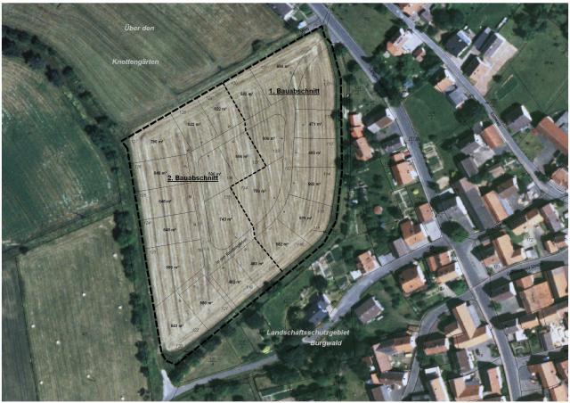 Wohngebiet »Über den Knottengärten «