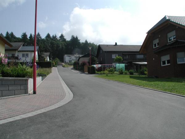 Baugebietsstraße nach Endausbau