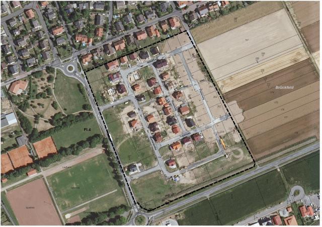 Wohn- und Mischgebiet »Brückfeld IV«