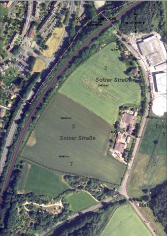 Gewerbe- und Industriegebiet »Das kleine Feld / Die Waidseite«