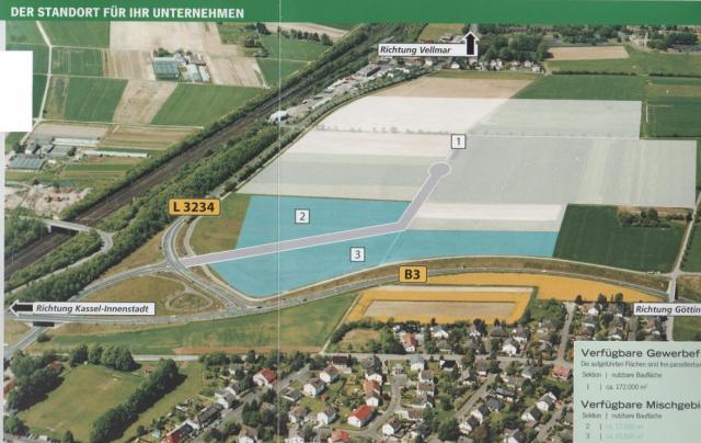 Gewerbe- und Mischgebiet »Ihringshausen West«