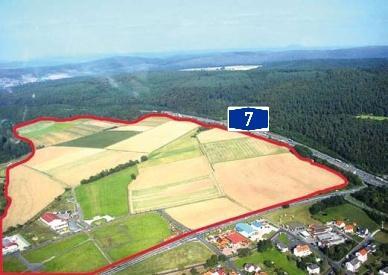 Gewerbe- und Industriegebiet »Interkommunales Gewerbegebiet Knüllwald - Remsfeld«