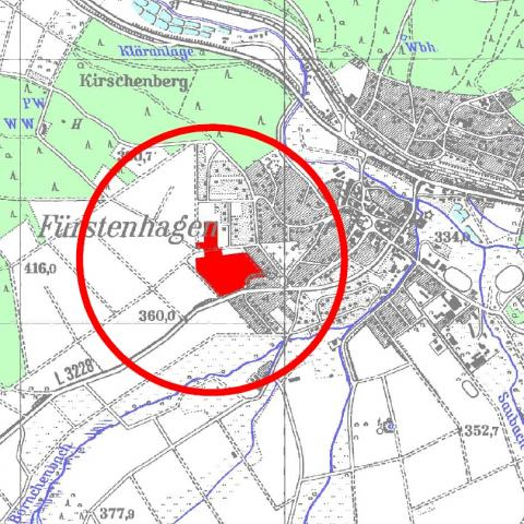 Wohngebiet »Ober der Höhle (OT Fürstenhagen)«