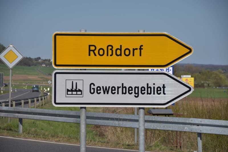 Gewerbe- und Mischgebiet »Gewerbegebiet Amöneburg-Roßdorf«