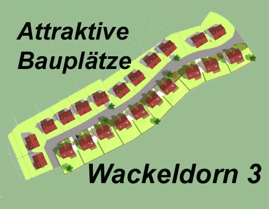 Wohngebiet »Baugebiet Wackeldorn 3«