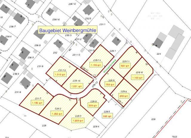 Wohngebiet »Weinbergmühle«