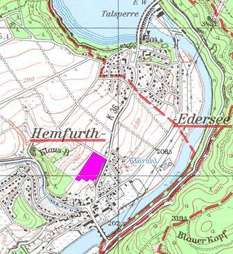 Wohngebiet »Am Klausberg (Hemfurth/Edersee)«