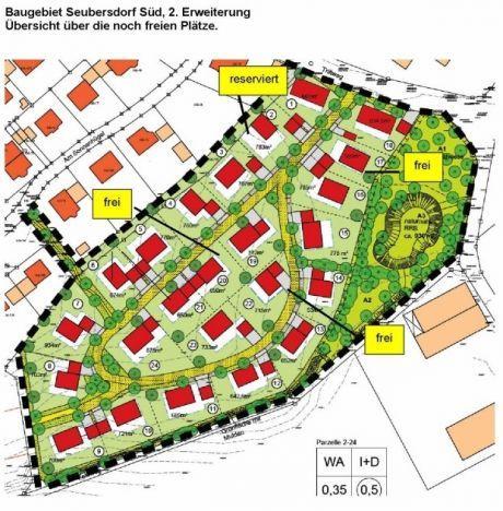 Wohngebiet »Seubersdorf Süd, 2. Erweiterung «