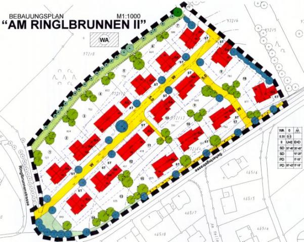 Wohngebiet »Am Ringlbrunnen II«