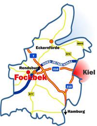 Gewerbegebiet »Buchenweg (B-Plan 32.2) im Gewerbestandort Fockbek«