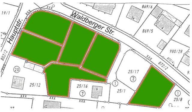 Wohngebiet »Südlich der Waldberger Sttraße«