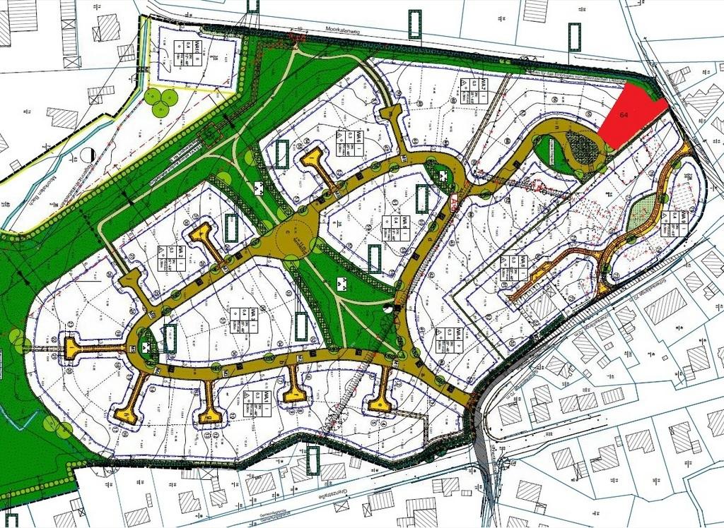 Bauplatz Nr. 64 im Wohngebiet B-Plan 20 Lerchenberg