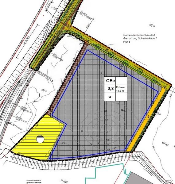 Gewerbegebiet »B-Plan 23 - Gewerbegebiet an der K76/NOK«