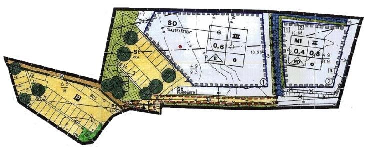 Bauplatz Nr. 01 im Mischgebiet B-Plan 29 -Sondergebiet für den Fremdenverkehr am NOK