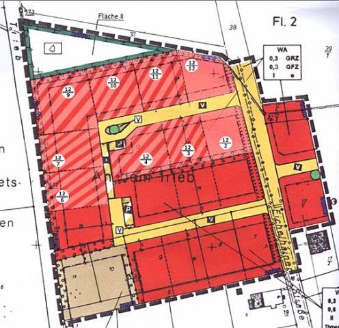 Wohngebiet »Baugrundstücke in Lanzenhain«