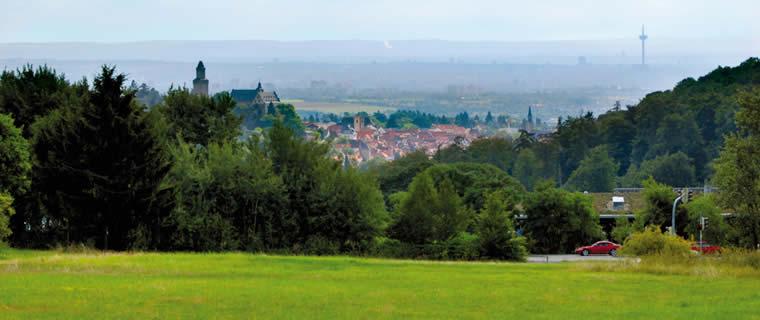 Blick auf Kronberg