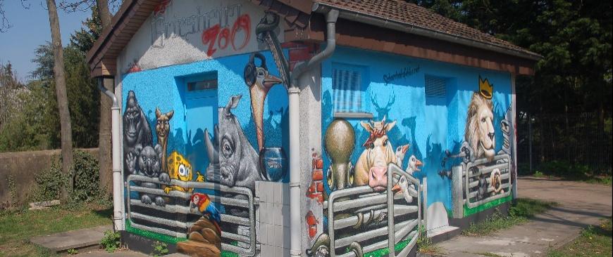 Graffiti Spielplatz Kirchgasse