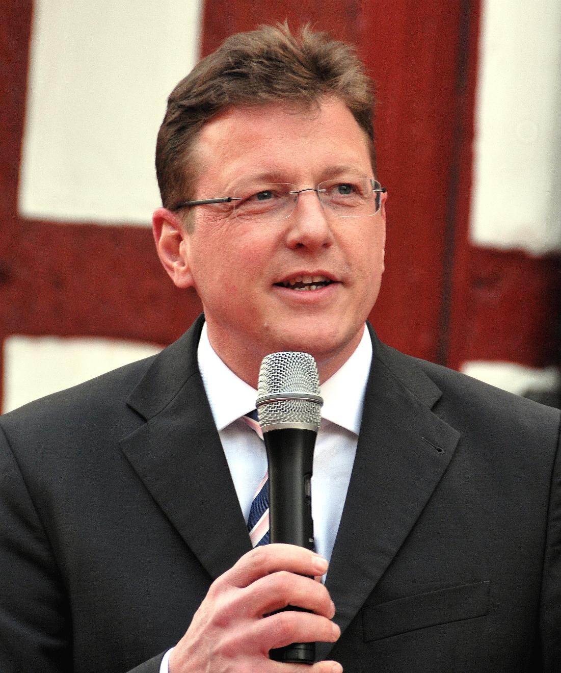 Bürgermeister Stefan Sauer