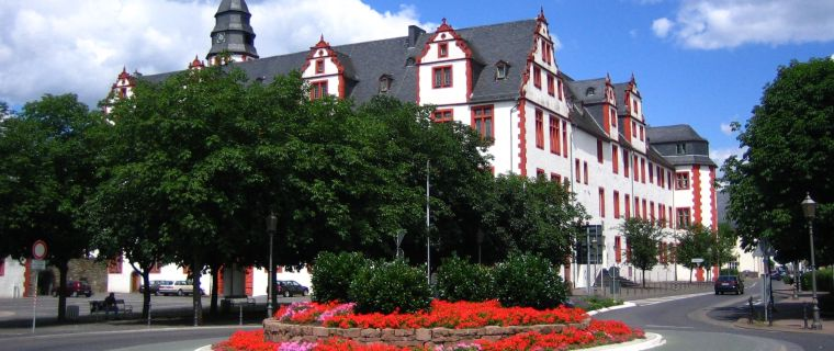 Das Schloss Hadamar in der Ortsmitte