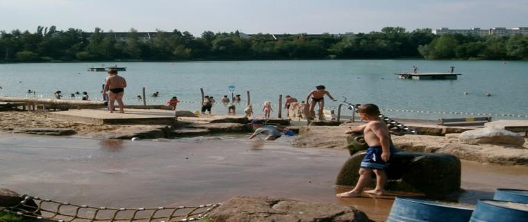 Badespass für Groß und Klein im Strandbad Rodgau