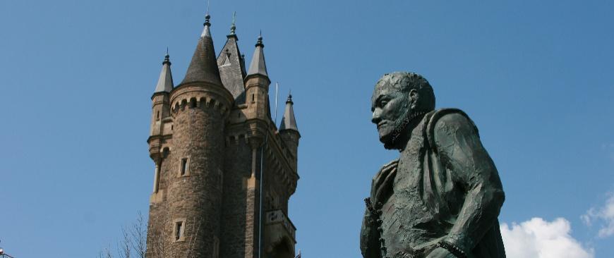 Wilhelmsturm und Denkmal; Foto: Benjamin Neef
