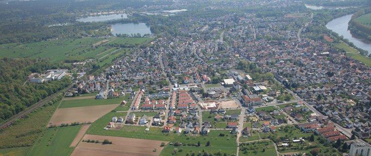 Blick auf Großkrotzenburg