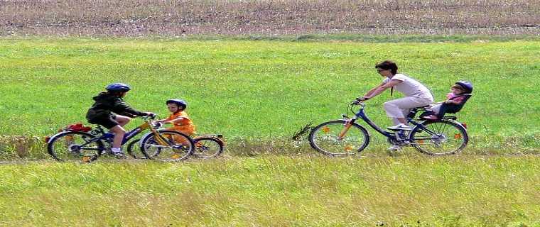 Radfahrer im Kinzigtal