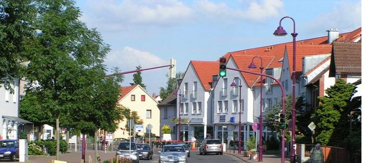 Kennedystraße in Dörnigheim
