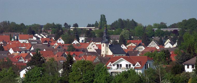 Blick auf Kilianstädten