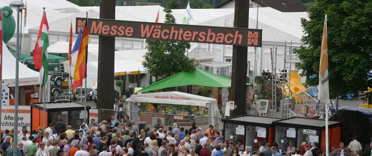 ca. 60.000 Besucher zählt die Messe jährlich