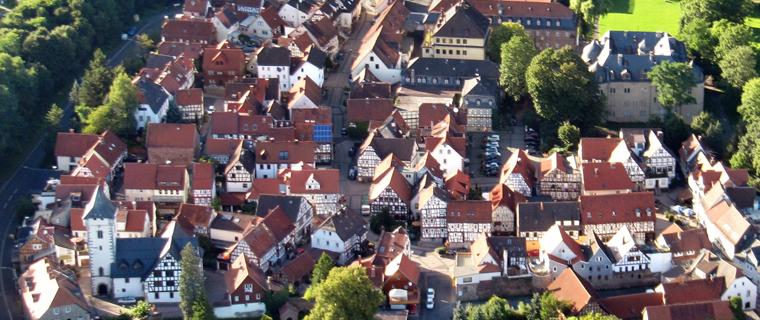 Die historische Altstadt von Wächtersbach