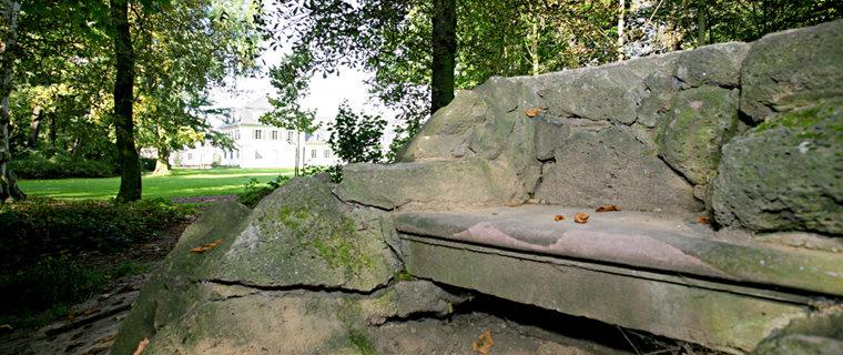 Im Schlosspark Rumpenheim
